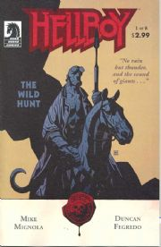 Hellboy The Wild Hunt #1 (2008) Mike Mignola Dark Horse comic book
